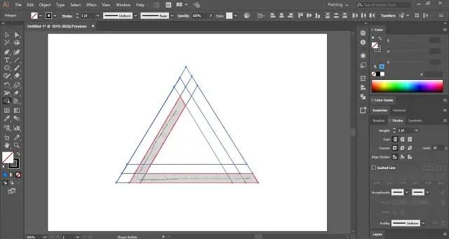Merge shapes