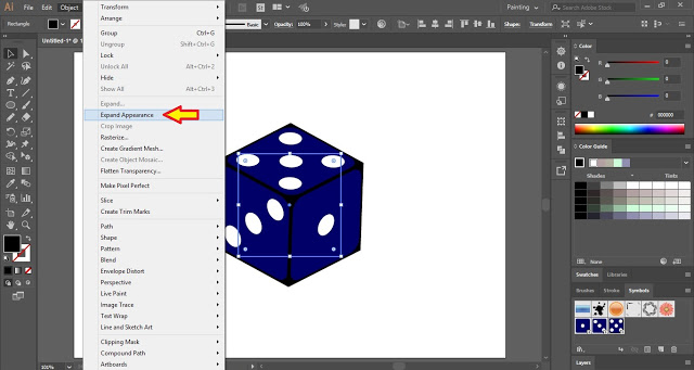 Expand Appearance of the Dice