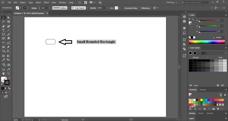 Music Equalizer Background in Adobe Illustrator
