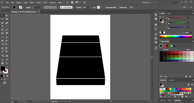 Text Wrap in Illustrator using Top Object