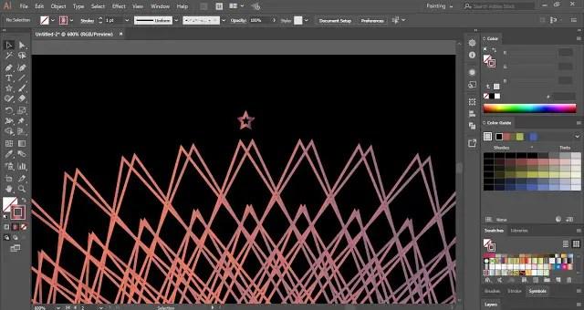 Geometric Art in Adobe Illustrator