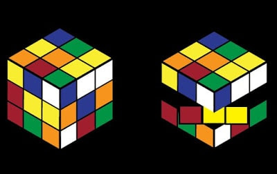 3D Rubik's Cube in Adobe Illustrator