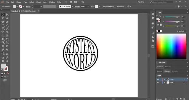 Design a Logo in Adobe Illustrator