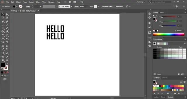 Creative 3D Text Effect in Adobe Illustrator