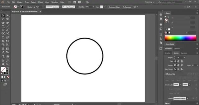 Design a SPYGLASS LOGO in Adobe Illustrator