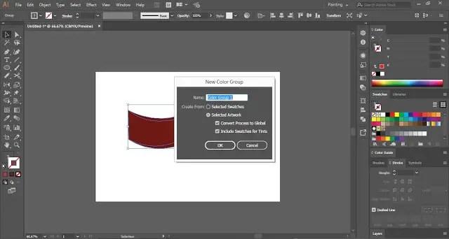 Save Gradients in Adobe Illustrator