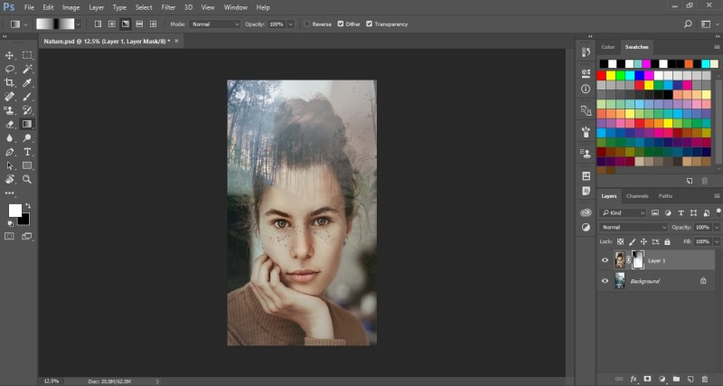 Blend Images in Photoshop