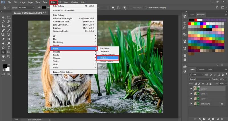 Select Median Filter