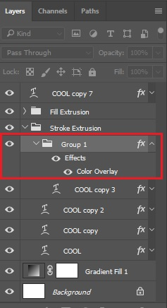 Apply Color Overlay