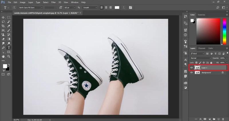 Create a copy of the original image