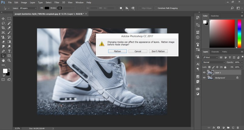 Duotone in Photoshop