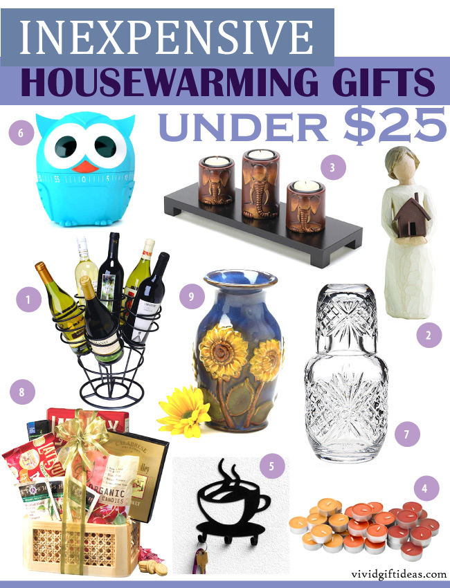 Cheap Housewarming Gift Ideas Inexpensive Housewarming Gifts Under $25 - Vivid's