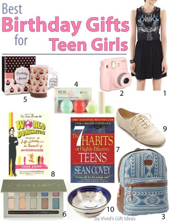 Best Birthday Gift Ideas for Teen Girls - Vivid's