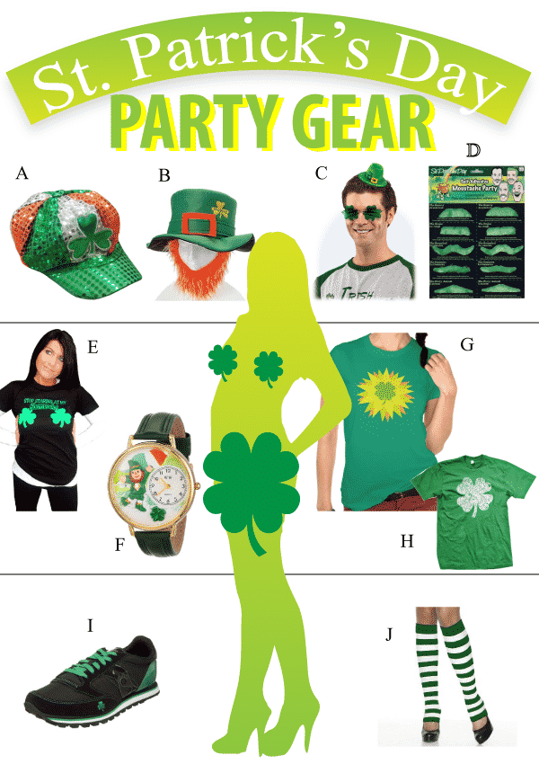 St Patricks Day Party Gear Review Vivids Gift Ideas