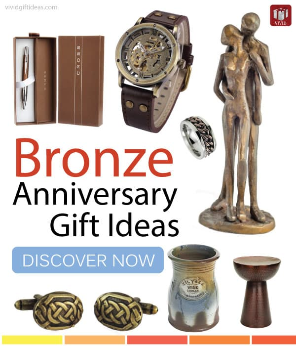 Eighth Wedding Anniversary Traditional Gift: Top Bronze Anniversary Gift Ideas For Men