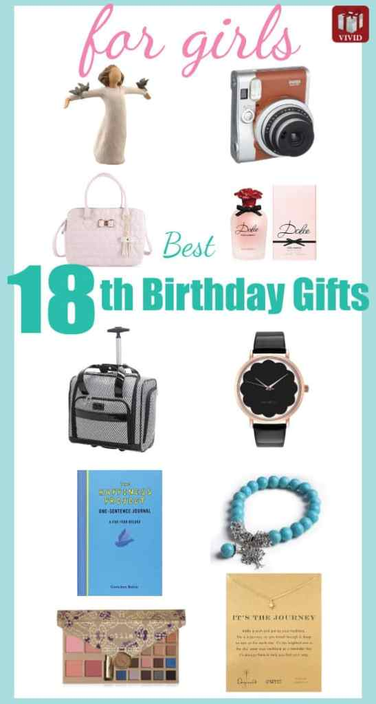 Best 18th Birthday Gifts For Girls