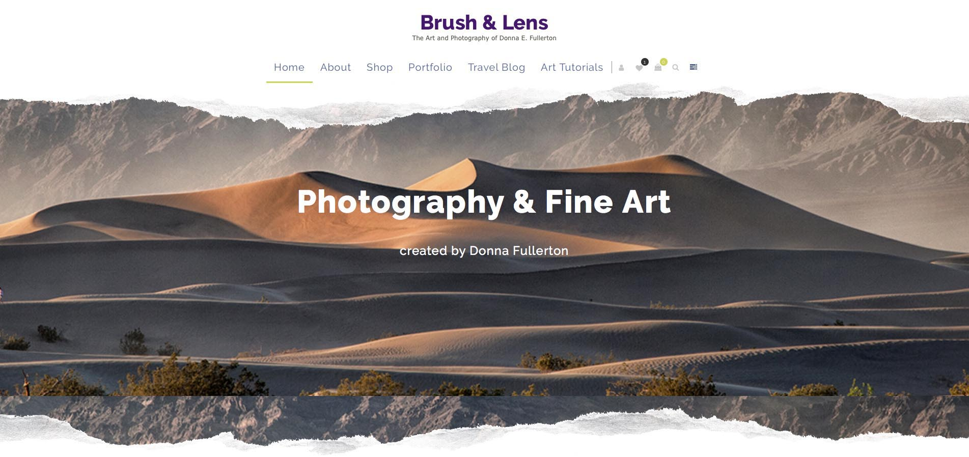 Brush & Lens