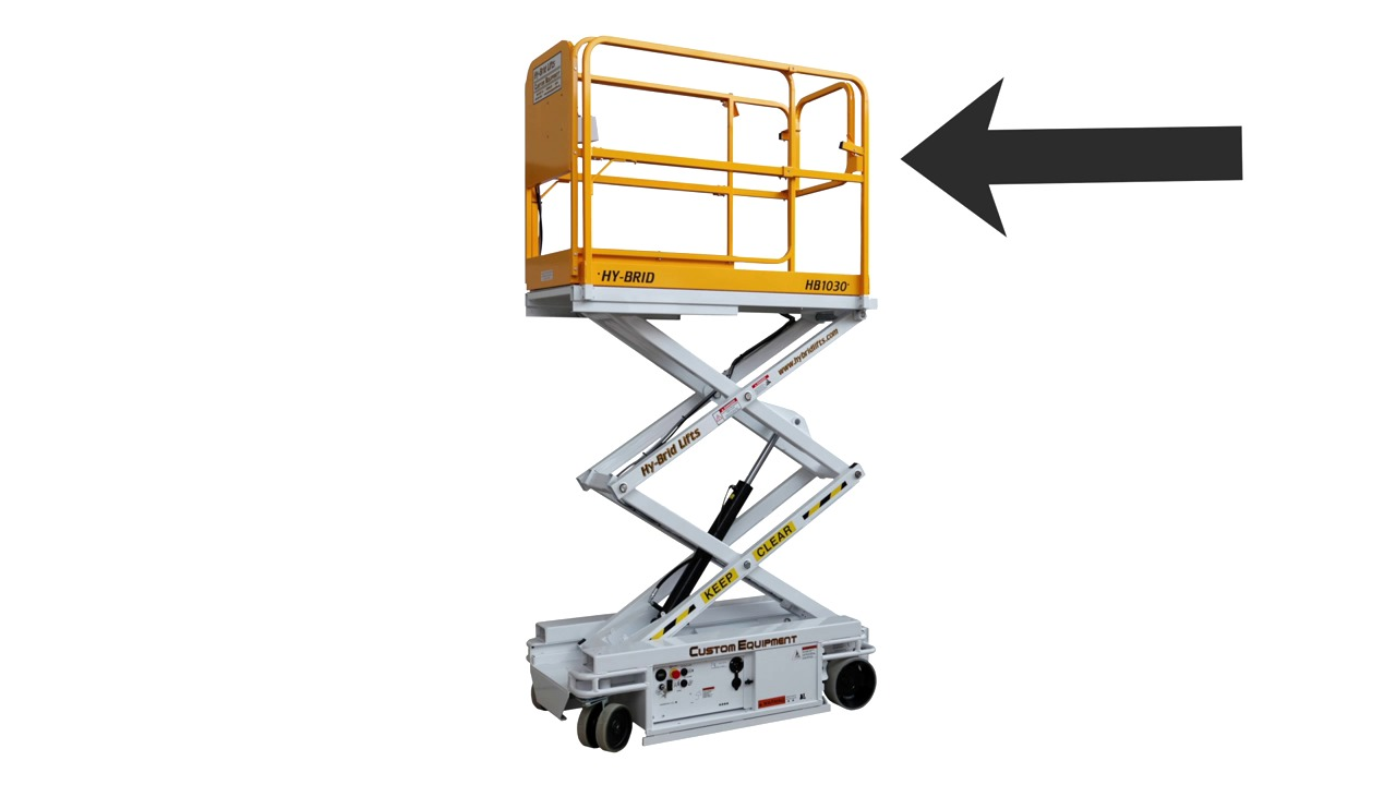 hight resolution of aerial lift