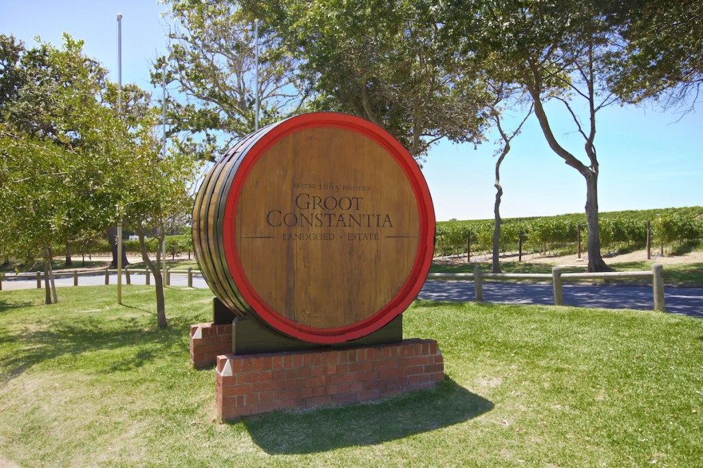 Groot Constantia Wine Barrel