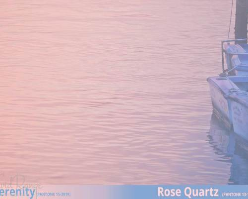 Pantone Colors 2016 - Serenity & Rose Quartz