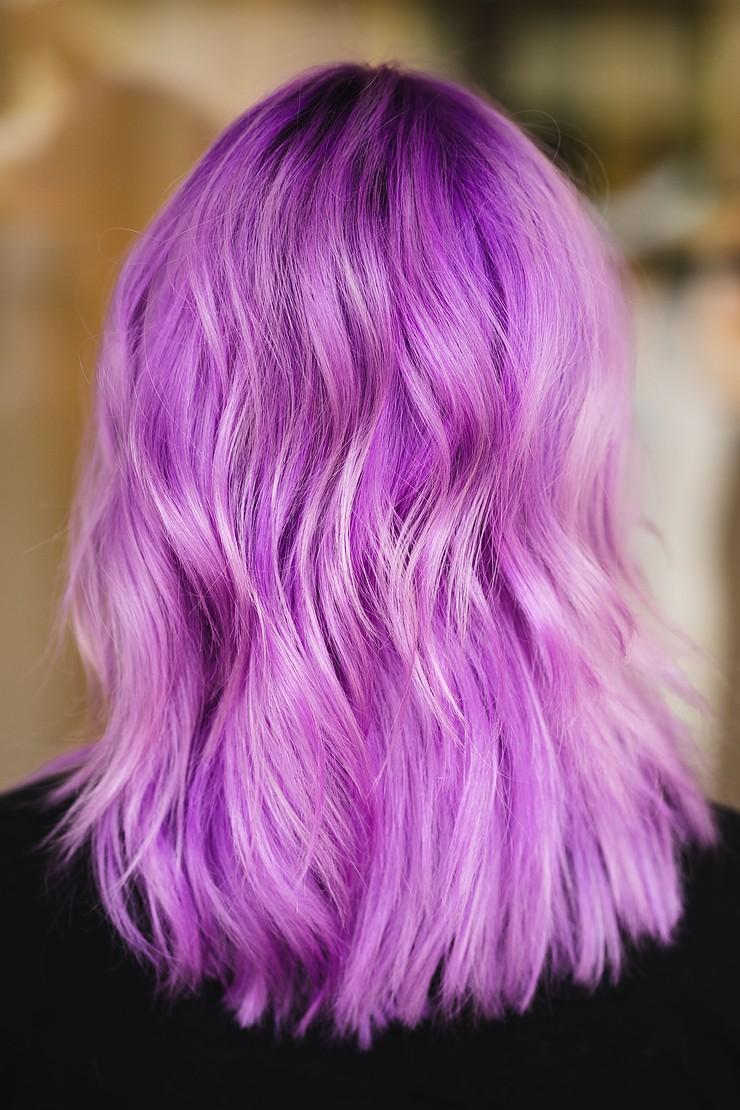 purple vivid hair color