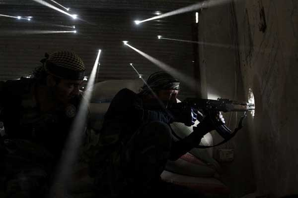 5. Two Syrian rebels