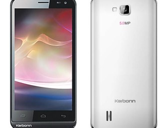 "Karbonn Mobile launched DUAL SIM Budget Android Smartphone ""Smart A12"" with 4.5 inch Big Screen and 1GHz processor"