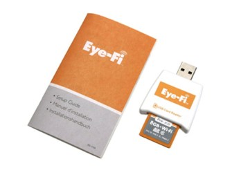Eye-Fi launches New Wifi Mobi Memory SD Cards