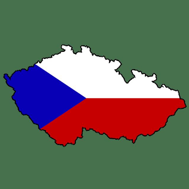 mapa Rep. Checa