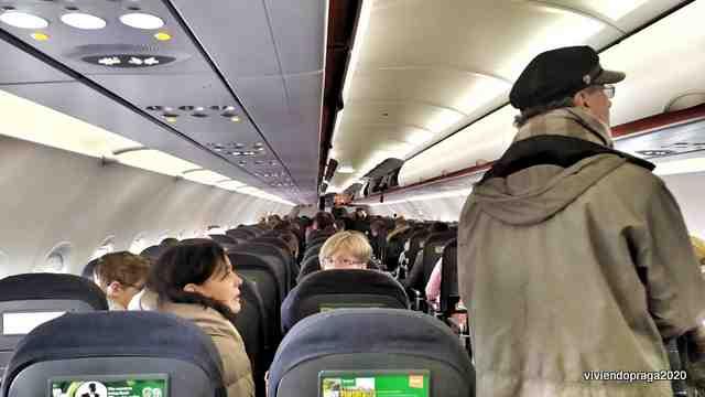 avión pasajeros