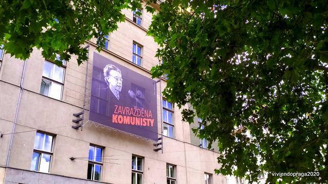 Milada Horáková pancarta