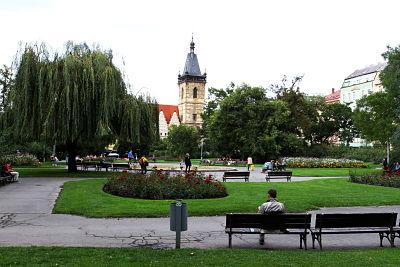 Plaza de Carlos, Praga