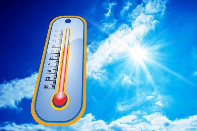 termómetro, Sol, calor