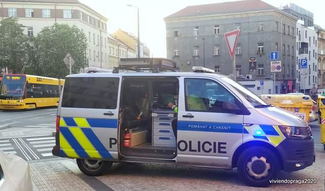patrulla policial, calle