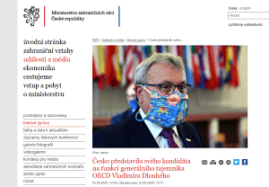Vladimír Dlouhý OCDE