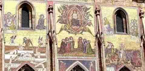 Mosaico Juicio Final Castillo de Praga