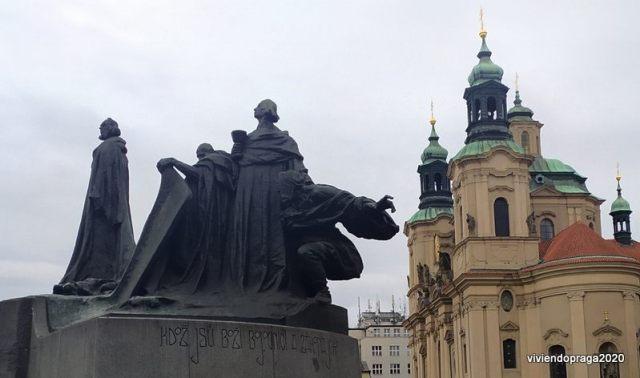 Monumento Jan Hus Praga
