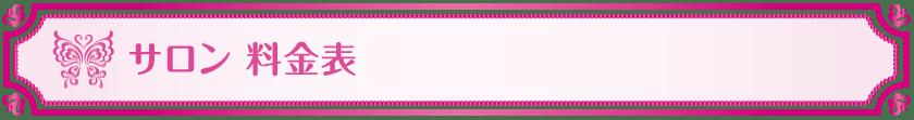 サロン料金表_Vivienne Waxing【大阪・南堀江】ブラジリアンワックス 心斎橋 難波 ヴィヴィアン