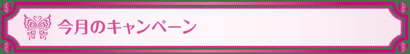 今月のキャンペーン_Vivienne Waxing【大阪・南堀江】ブラジリアンワックス 心斎橋 難波 ヴィヴィアン