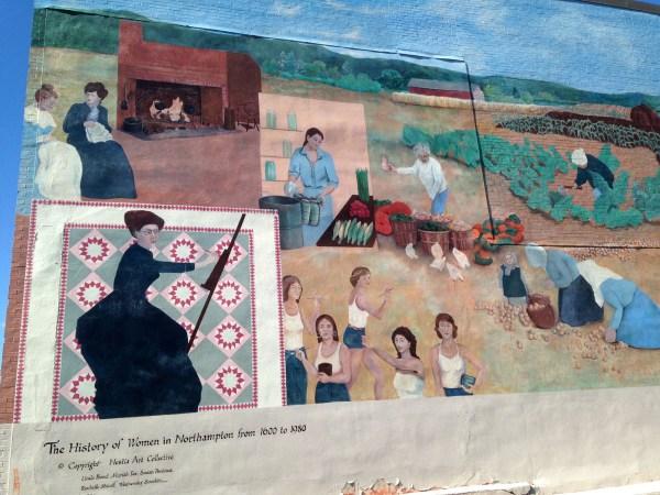 Women History Mural In Massachusetts And