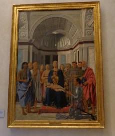 Piero at the Brera