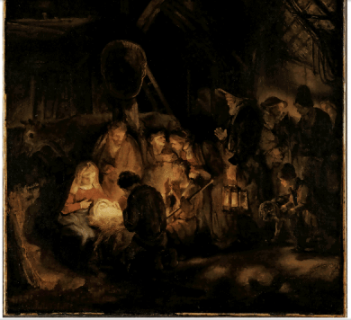 pupil of rembrandt nativity