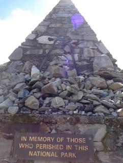 Alpine memorial at Mt Cook