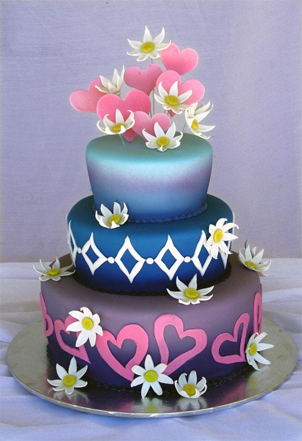 Modern Wedding Cakes6 Wedding Inspiration Trends