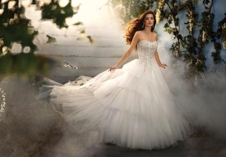 Disney Princess Inspired Wedding Dresses 2