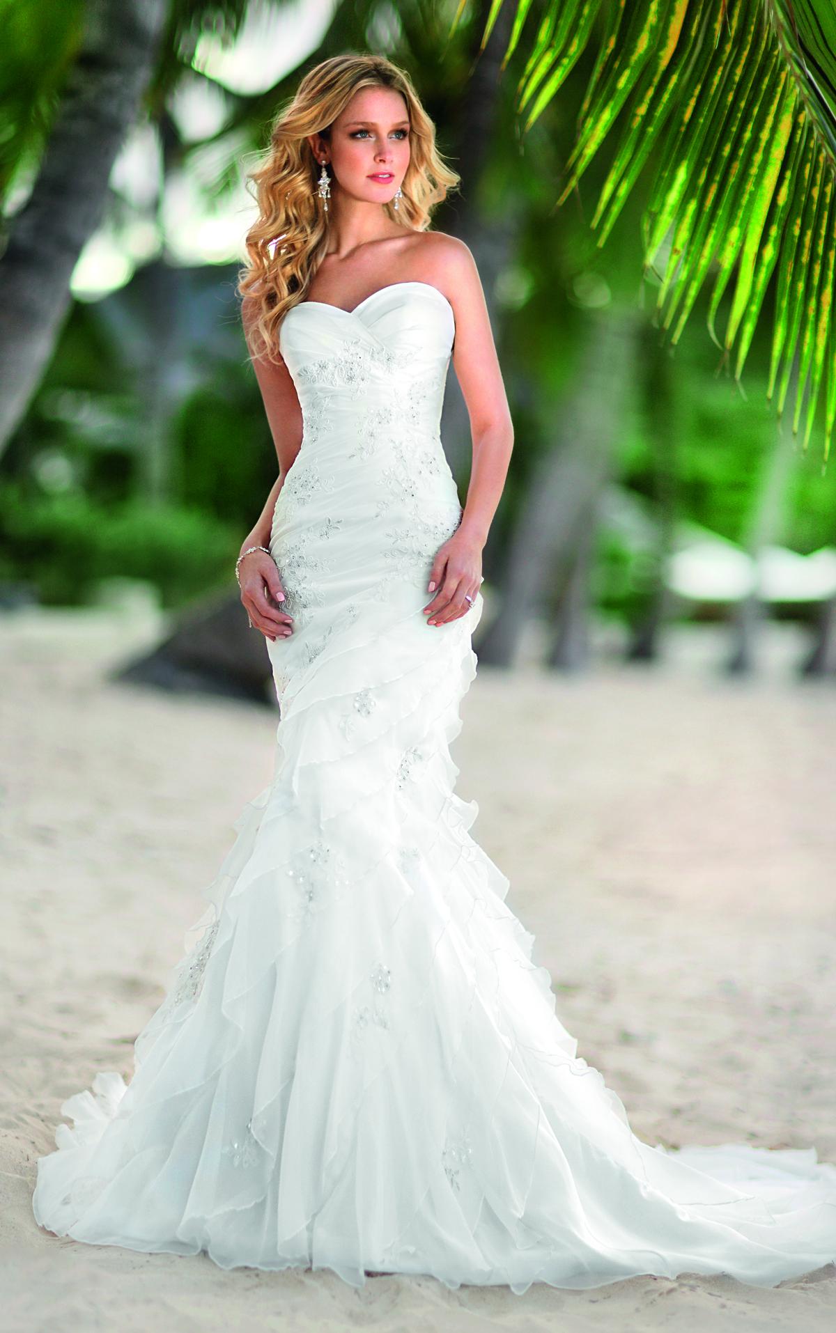 Top Ten Wedding Dress Style in 2013  Mermaid  Wedding Inspiration Trends