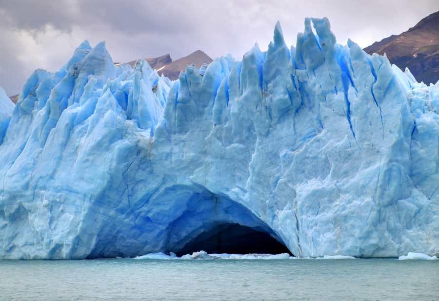 Rottura del ghiacciaio Perito Moreno dal VIVO