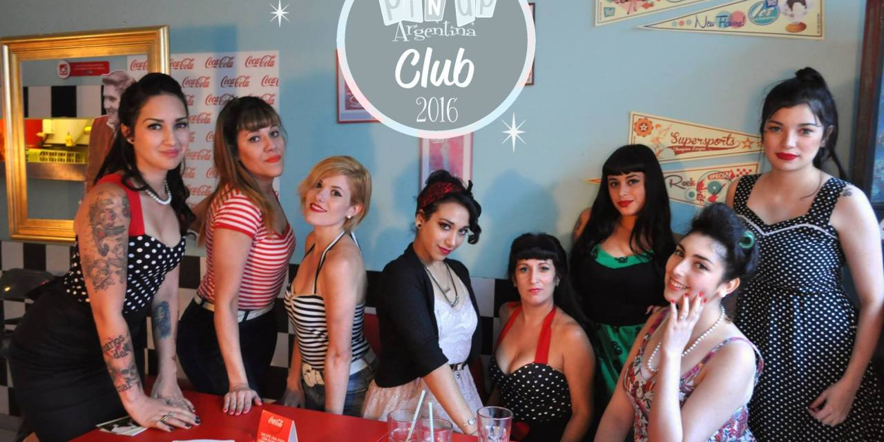 Una pin up a Buenos Aires