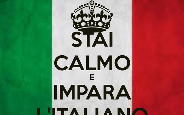 L'italiano va di moda…