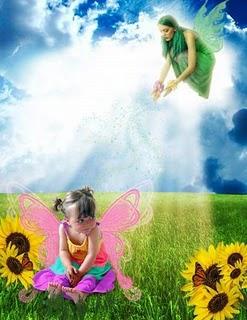 niña mariposa
